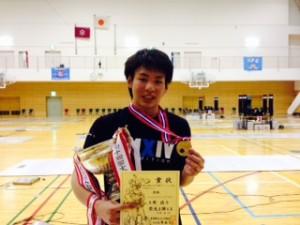 東日本少年中学男子フルーレ優勝者