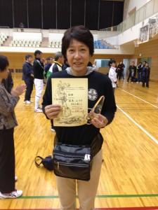 女子エペ 第1位藤巻みずき(東京YMCA)